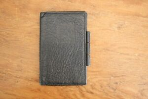 Carlos Falchi The Buffalo Leather Notebook Notepad Cover