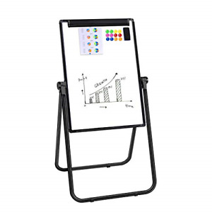 Dry Erase Board 24x36 Magnetic Whiteboard Easel With U Stand Double Sided And