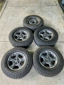 Jeep Gladiator Rubicon Wheels And Tires Full Set 5 Jt 2020 Oem Take Offs