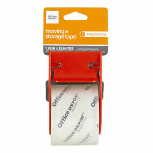 Office Depot Moving storage Tape With Dispenser 1 15 16 X 26 11 16 Yd Clear
