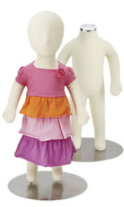 Flexible 3 Month Old Baby Mannequin Boy Girl Unisex Form Retail Bendable 24 T