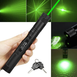 200miles 1mw 303 Green Laser Pointer Pen Strong Visible Beam Light With Star Cap
