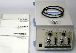 As is ono Sokki Ps 603 Ps 703 Ps 5506 Charge Amplifier Integration Unit