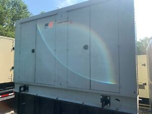 2008 Mtu 350 Kw Diesel Generator With Enclosure And Base Tank Tier 3 Low Hours