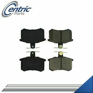 Rear Brake Pads Set Left And Right For 1988 1992 Audi 80 Quattro