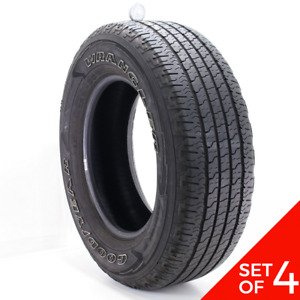 Set Of 4 Used 275 65r18 Goodyear Wrangler Fortitude Ht 116t 5 5 7 32