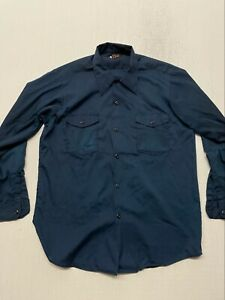 Vintage Lee Two Pockets Button Up Made In USA XL VINTAGE A0066 $52.00
