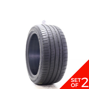Set Of 2 Used 275 40zr18 Michelin Pilot Super Sport 99y 7 5 8 5 32