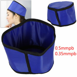X ray Shield Head Protection Soft Lead Cap Radiation Safety Blue Hat 0 5mmpb Usa
