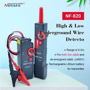 Noyafa Nf 820 High low Voltage Underground Wall Wires Fault Locator Cable Finder