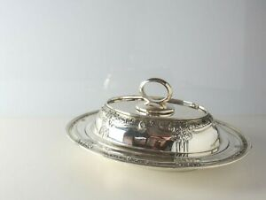 Barbour Int L Silver Louis Nouveau Sterling Silver Covered Entree Serving Dish