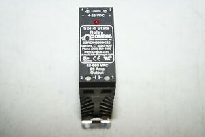 Omega Solid State Relay Ssrdin660dc25 4 28vdc 48 660vac 25a