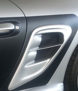 Porsche Boxster 986 997 Turbo Side Vents Update New