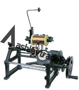 Coil Winding Machine Semi automatic Hand Coil Winder With Electronic Counting