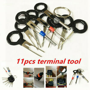 11x Parts Accessories Terminals Remove Tool Wire Connector Pin Extractor Puller
