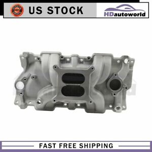 Fits 1955 1986 Small Block Chevy 262 400 New Engine Intake Manifold
