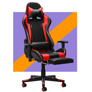 Ergonomic Office Chair High Back Racing Gaming Chair Swivel Computer Desk Chairs