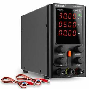 Dc Power Supply Variable Eventek Adjustable Switching Dc Regulated Bench Powe