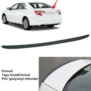 Fit For Toyota Camry 2012 2014 Universal Rear Tail Trunk Lip Spoiler Pvc Wing