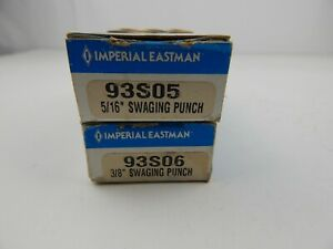 Imperial Eastman Swaging Tools 5 16 93s05 And 3 8 93s06