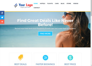 Outstanding Affiliate Travel Hotel Store Website Free Installation free Hosting