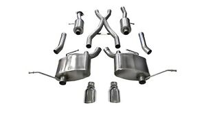 Corsa Performance 14991 Sport Cat Back Exhaust System Fits 11 19 Grand Cherokee