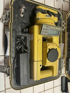 Topcon Gts 313 Surveying Total Station With Battery Case