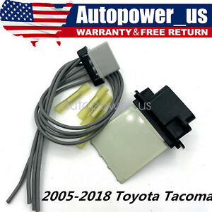 Hvac Fan Blower Motor Resistor Kit W Wire Harness For 2005 2017 Toyota Tacoma