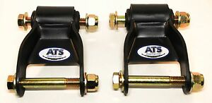 Ats Springs Chevygmc Silveradosierra Leaf Spring Shackle Kit Replaces 722 029 Fits More Than One Vehicle