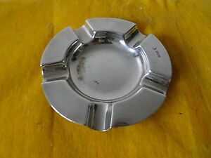 Ash Tray Sterling Silver Chester 1932 Art Deco Fully Markedsimple Stylish