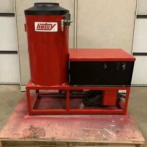 Used Hotsy 991a 1ph natural Gas 4gpm 2000psi Hot Water Pressure Washer