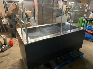 2015 Hill Phoenix Cwc6h Hot Food 6 Heated Pizza Warmer Service Display Case Usa