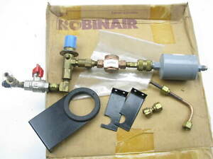 Robinair 17700 17400 17300 R12 A c Recovery Machine Filter Flushing Adapter Kit
