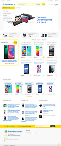 Best Electronics Store Amazon Affiliate Drop Shipping Website Free Hosting