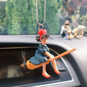 Car Hanging Pendant Cute Anime Flying Magical Girl Mirror Decoration Ornaments