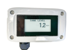 Water Tank Level Monitor With Stainless Submersible Sensor Not Ultrasonic