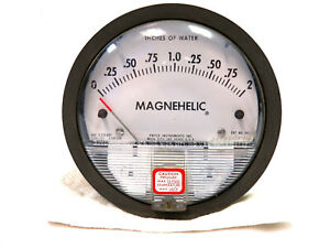 Dwyer Model 2002c Magnehelic Differential Pressure Gauge 2 Inches Of Water