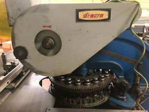 Di acro Turret Punch Press 18 Stations Good Condition
