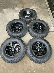 Jeep Wrangler Rubicon Wheels And Tires 2021 Full Set 33 Jt