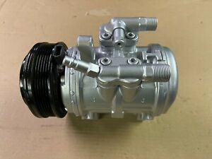 87 93 Ford Mustang Air Conditioning Ac Compressor Unit Parts Or Repair Oem Reman