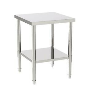 Stainless Steel Heavy Duty Food Prep Kitchen Work Table 24 x24 x32 Cafe Home
