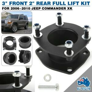 For 06 10 Jeep Commander Xk 3 Front 2 Rear Full Leveling Lift Kit Spacer Usa Fits Jeep Commander
