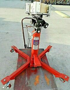 1000lbs Capacity Norco 2 Stage Under Car Transmission Jack Dual Pump Speed Pro