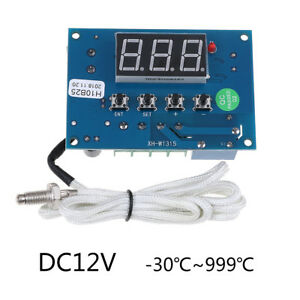 Dc12v High Temperature K thermocouple Digital Led Temp Controller Switchmoduhmsq