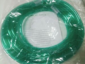Salter Labs 2025g 25 Supply Tubing Adult 6mm X 25 7 6m Green W Connect