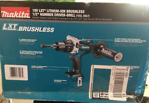 New Makita 18v Xph07 Lxt Cordless Brushless 1 2 Hammer Drill Driver Tool Only