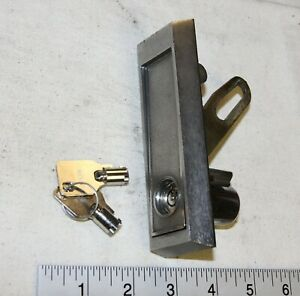 National Vending Machine L Handle Assembly With A Lock Core And 2 Keys