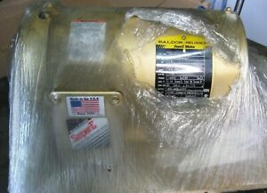 Baldor Cem3554t 1 5 Hp 56c 1760rpm Electric Motor Never Installed New