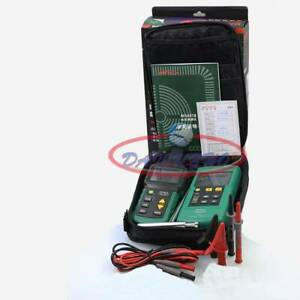 Ms6818 Mastech Wire Cable Finder Detector Line Metal Pipe 12v 400v Ac dc Tester