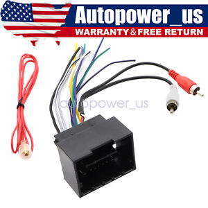 Radio Wire Harness Aftermarket Stereo Installation For Chevrolet Camaro 2010 15